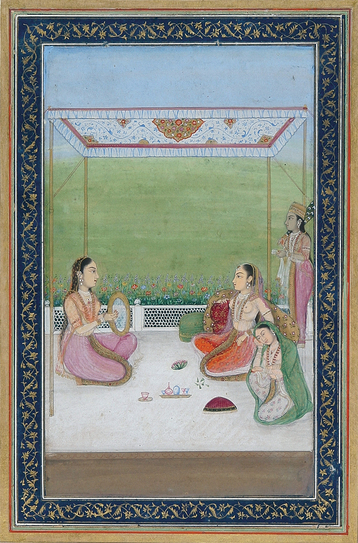 Indian Miniature Painting Detail