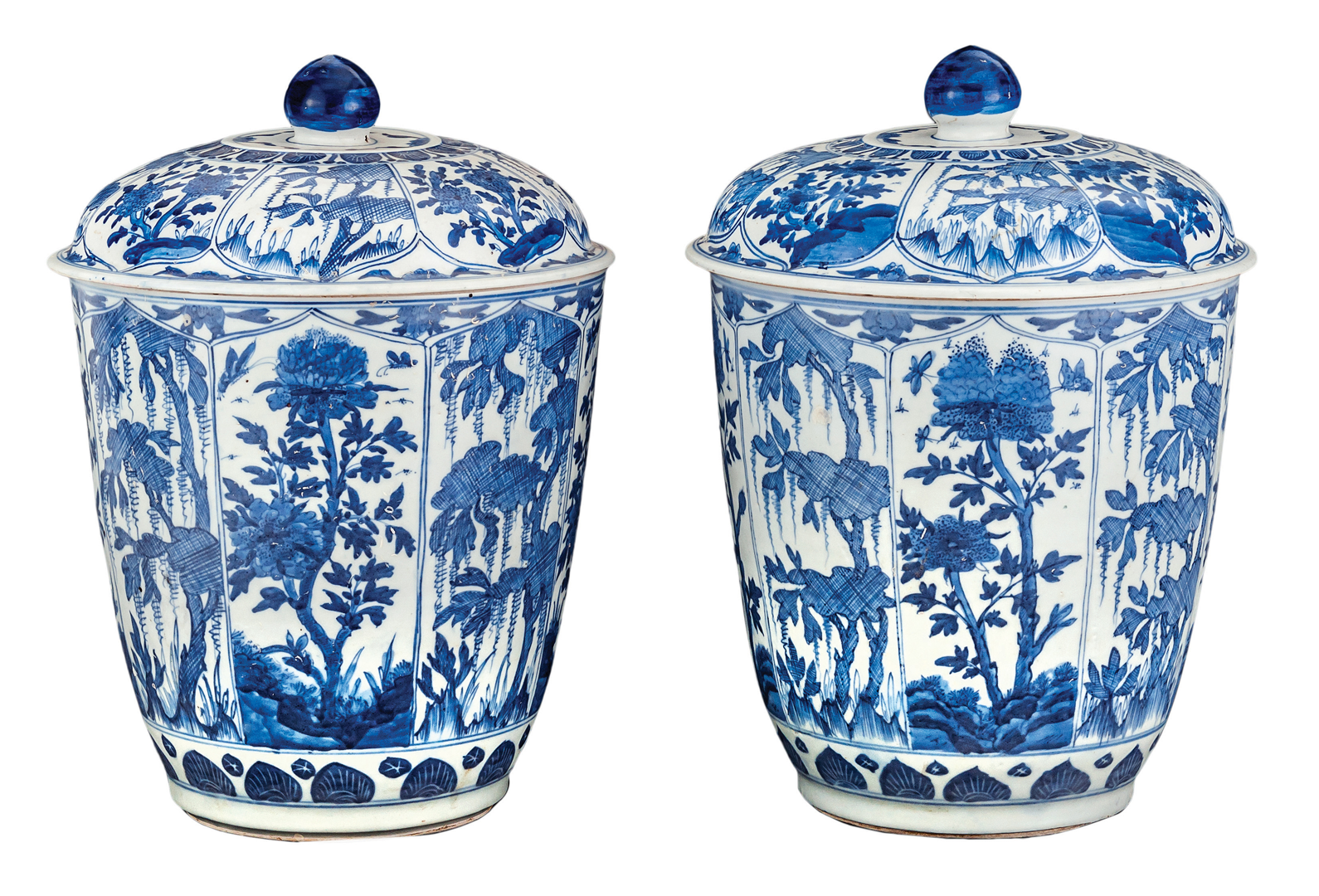 Chinese Blue and White Jars