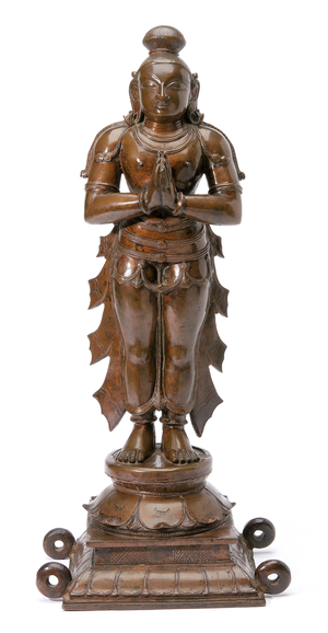 Indian Bronze Figure Tall