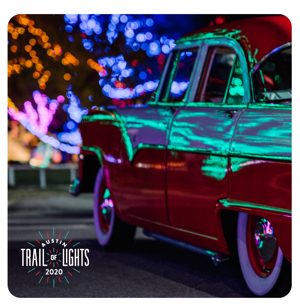 Austin Trail of Lights Magnet