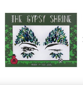 GYPSY SHRINE POISON IVY FACE JEWEL  /Poison Ivy