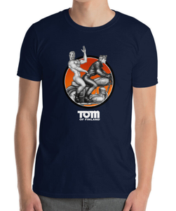 Tom of Finland Easy Rider T-shirt/Navy