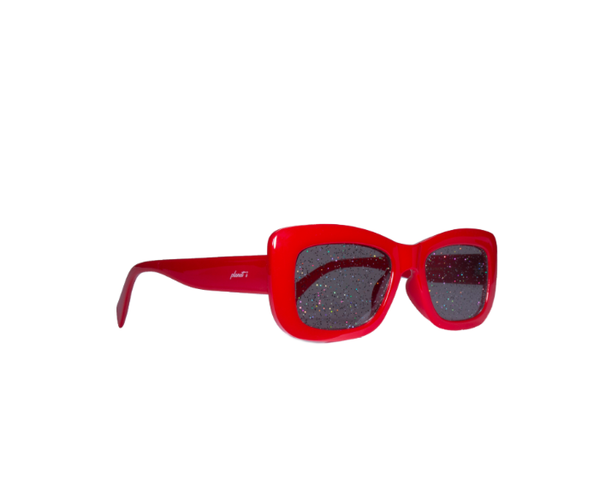Planet i/Supernova Sunglasses/Red x Black