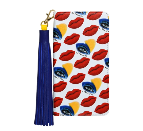 BADACIOUS KISS KISS iPHONE CASE-RED Wallet style