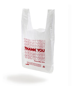 OPEN EDITIONS THANK YOU THANK YOU Tote White x Red