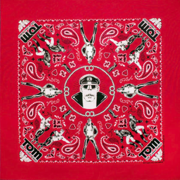 Kweer cards TOM OF FINLAND BANDANAS Red