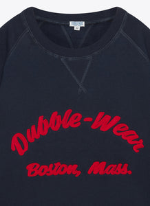 Boston Raglan Sweat - Navy