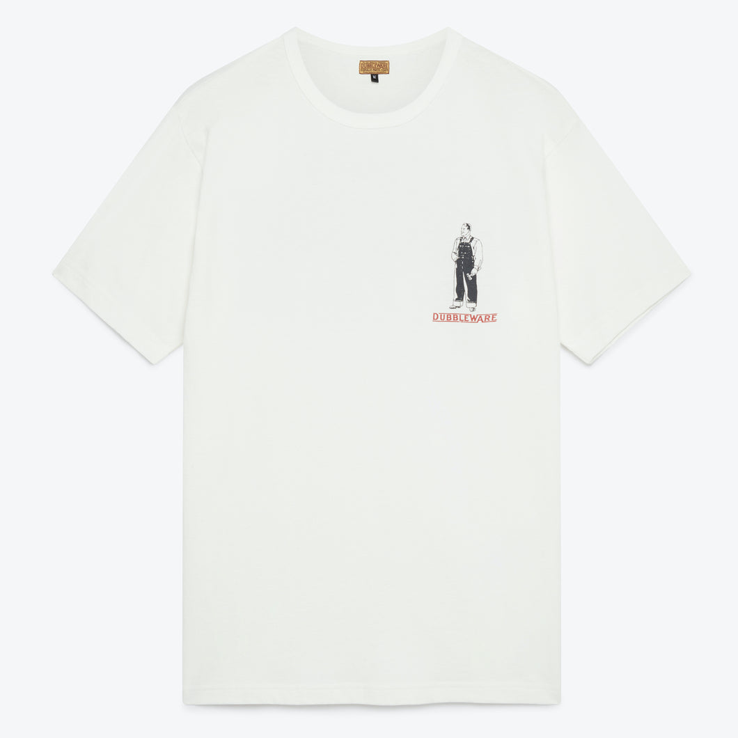 Tops Them All Tee - White