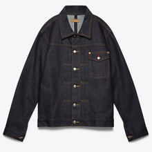 Load image into Gallery viewer, Nimes Selvedge Denim Jacket - Deep Blue