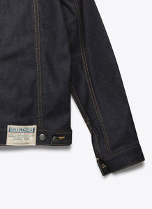Nimes Selvedge Denim Jacket - Deep Blue