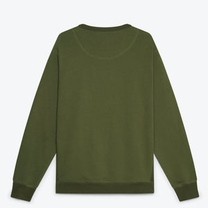 Tops Them All Sweatshirt - Military Green
