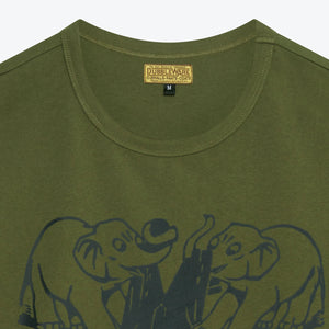Resistance Tee - Military Green