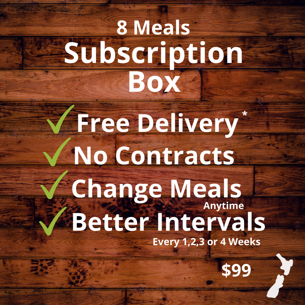 8 Meals Subscription Box