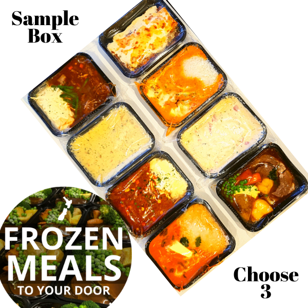 Sample Box of 3 Meals