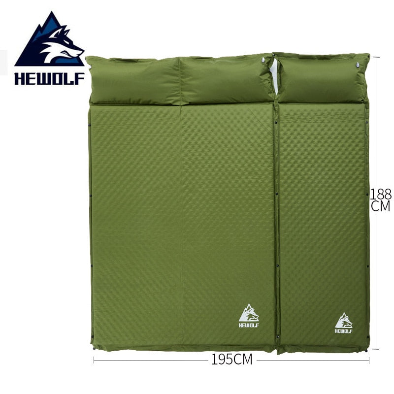 2in1 Heavy Duty, ULTRA Comfy Sleeping Pad