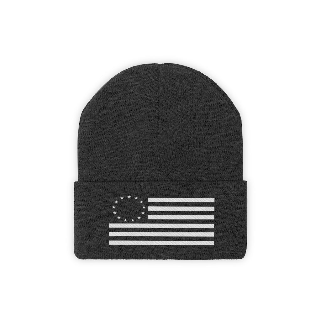 Betsy Ross Beanie (Designed & Embroidered in USA)