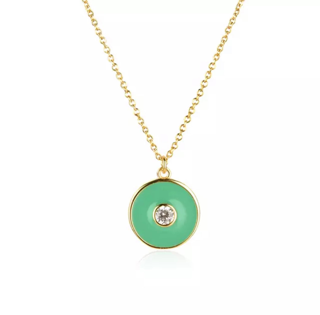 Sandbar Necklace Green
