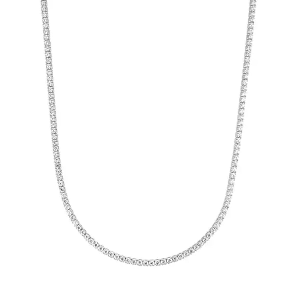 Lucali Necklace Silver