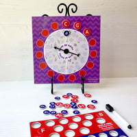 Circle of Fifths Magnetic Spinner Board