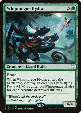 Whiptongue Hydra [Commander 2018] | Not Another Game Store