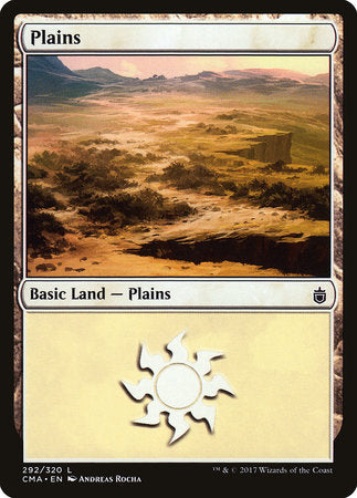 Plains (292) [Commander Anthology] | Not Another Game Store