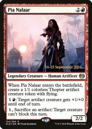 Pia Nalaar [Kaladesh Promos] | Not Another Game Store