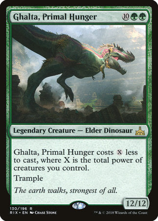 Ghalta, Primal Hunger [Rivals of Ixalan] | Not Another Game Store