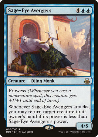 Sage-Eye Avengers [Duel Decks: Mind vs. Might] | Not Another Game Store