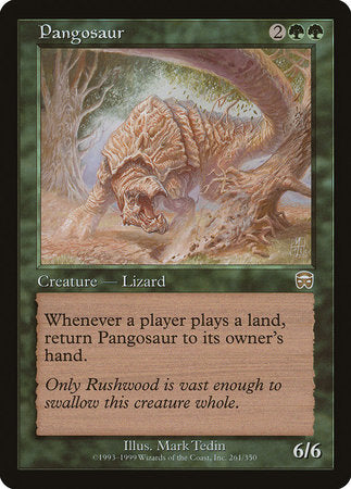 Pangosaur [Mercadian Masques] | Not Another Game Store