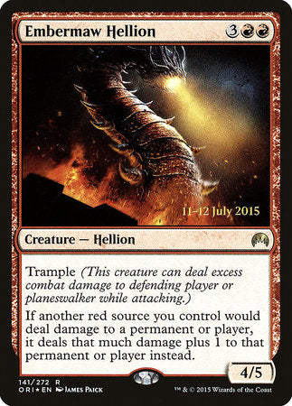 Embermaw Hellion [Magic Origins Promos] | Not Another Game Store