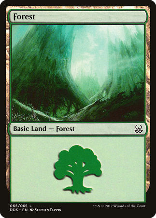 Forest (65) [Duel Decks: Mind vs. Might] | Not Another Game Store