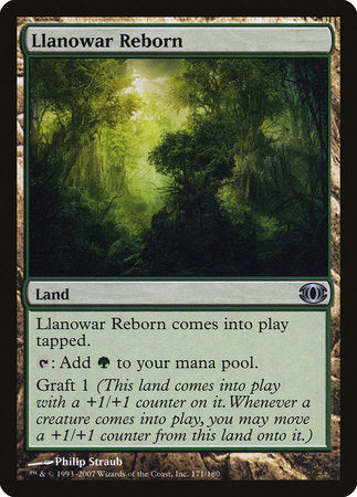 Llanowar Reborn [Future Sight] | Not Another Game Store