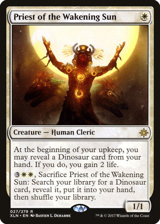 Priest of the Wakening Sun [Ixalan] | Not Another Game Store