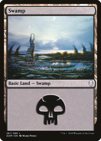 Swamp (261) [Dominaria] | Not Another Game Store