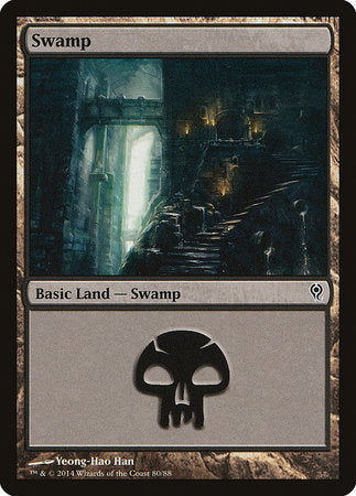 Swamp (80) [Duel Decks: Jace vs. Vraska] | Not Another Game Store