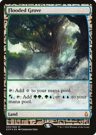 Flooded Grove [Zendikar Expeditions] | Not Another Game Store