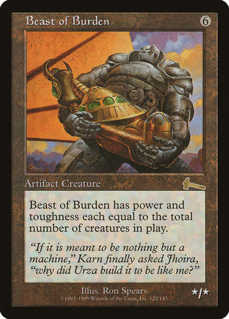 Beast of Burden [Urza's Legacy] | Not Another Game Store