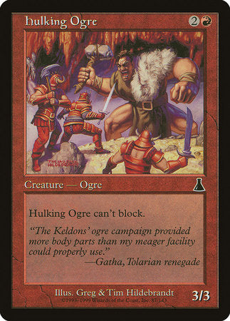 Hulking Ogre [Urza's Destiny] | Not Another Game Store