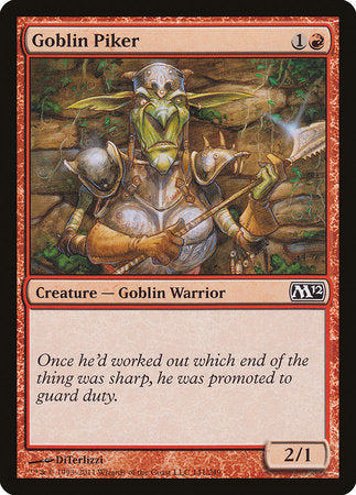 Goblin Piker [Magic 2012] | Not Another Game Store
