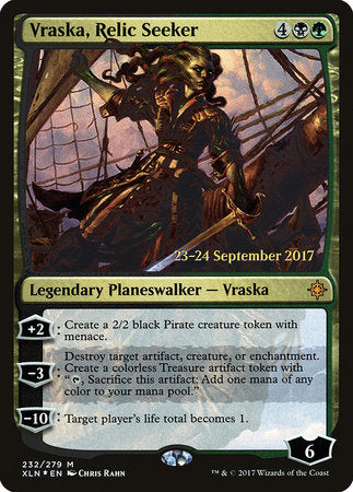 Vraska, Relic Seeker [Ixalan Promos] | Not Another Game Store