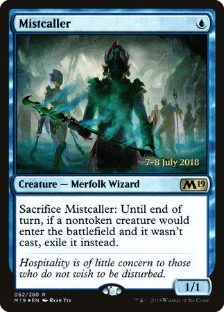 Mistcaller [Core Set 2019 Promos] | Not Another Game Store