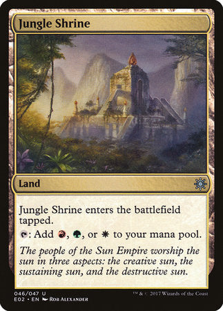 Jungle Shrine [Explorers of Ixalan] | Not Another Game Store