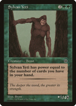 Sylvan Yeti [Portal Second Age] | Not Another Game Store