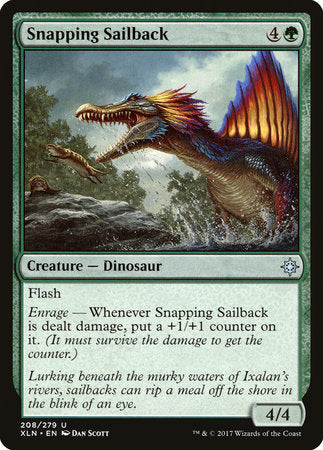 Snapping Sailback [Ixalan] | Not Another Game Store