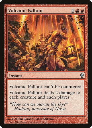 Volcanic Fallout [Conspiracy] | Not Another Game Store