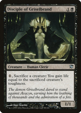 Disciple of Griselbrand [Innistrad] | Not Another Game Store