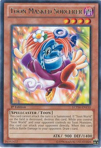 Toon Masked Sorcerer [LCYW-EN110] Rare | Not Another Game Store