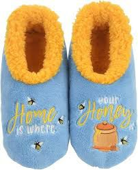 Snoozies Lt Blue Slippers