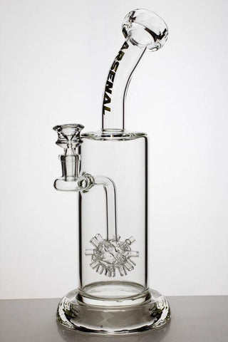 "12"" Arsenal Glass Watermine Water Pipe - dankrips"