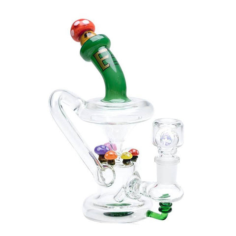 Empire Glassworks - Recycler Mini Rig - Mushroom - dankrips